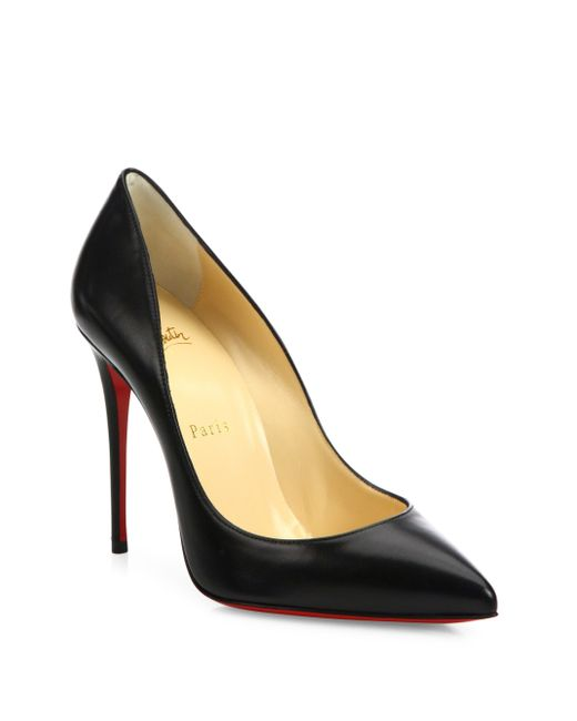 Christian Louboutin | Red Pigalle 100mm Leather Pumps | Lyst