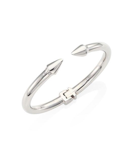 Vita Fede | Metallic Mini Titan Cuff Bracelet/silvertone | Lyst