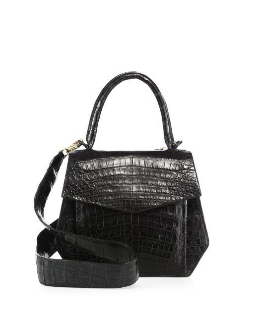 Nancy Gonzalez   Linda Crocodile Bag, Black   Lyst