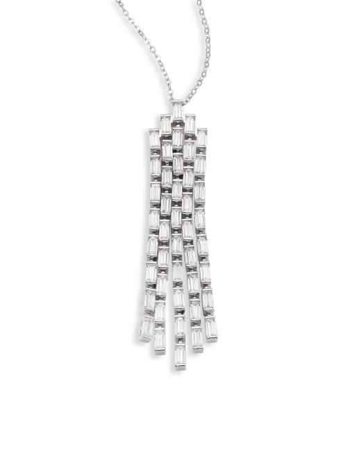 Fallon | Metallic Monarch Deco Waterfall Pendant | Lyst