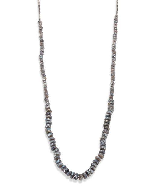 Chan Luu | Metallic Mystic Lab Beaded Necklace | Lyst