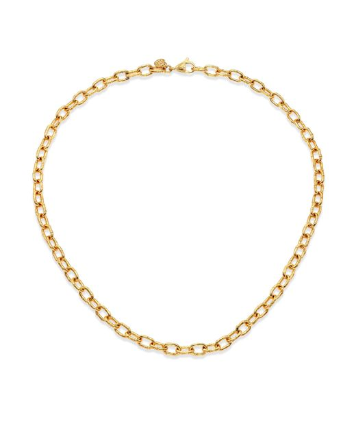 John Hardy | Metallic Bamboo 18k Yellow Gold Small Link Necklace | Lyst