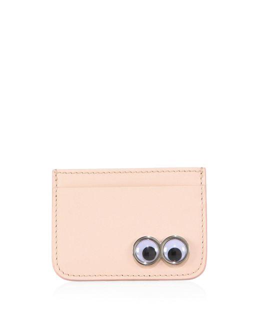 Sophie Hulme | Pink Rosebery Eyes Leather Card Holder | Lyst