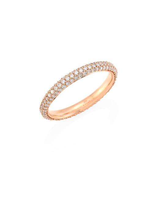 Kwiat   Metallic Moonlight Diamond & 18k Rose Gold Band Ring   Lyst