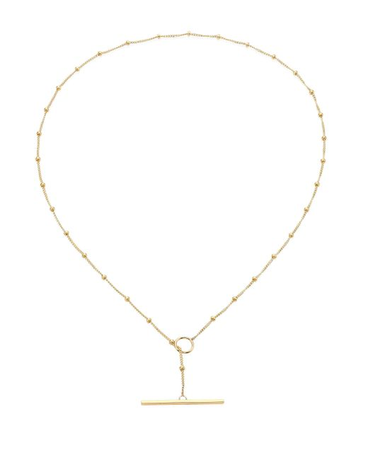 Zoe Chicco | Metallic 14k Yellow Gold Satellite Toggle Chain Choker | Lyst
