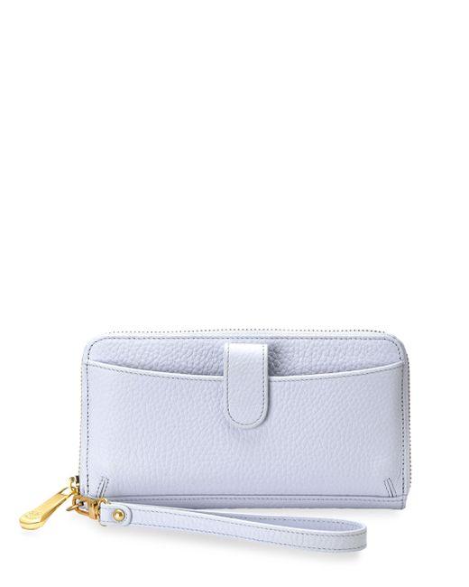 Gigi New York   Multicolor City Pebbled Leather Zip-around Phone Wallet   Lyst