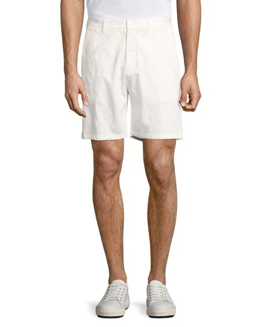 Vilebrequin   White Basic Embroidered Shorts for Men   Lyst