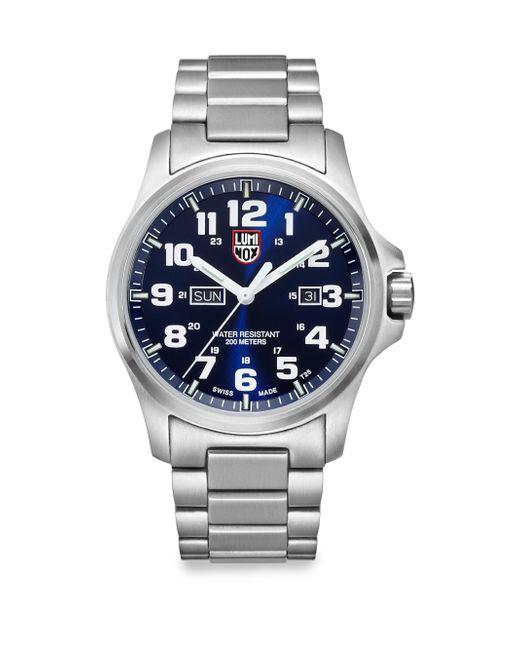 Luminox | Metallic Illuminated 24/7 Collection Bracelet Watch for Men | Lyst