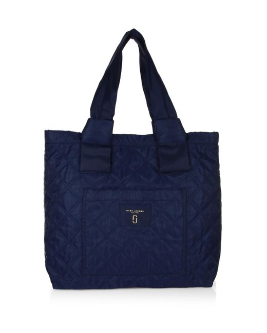 Marc Jacobs | Blue Nylon Knot Small Tote | Lyst
