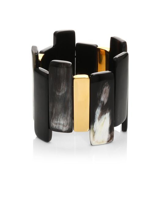 Nest | Multicolor Mixed Horn Stretch Bracelet | Lyst