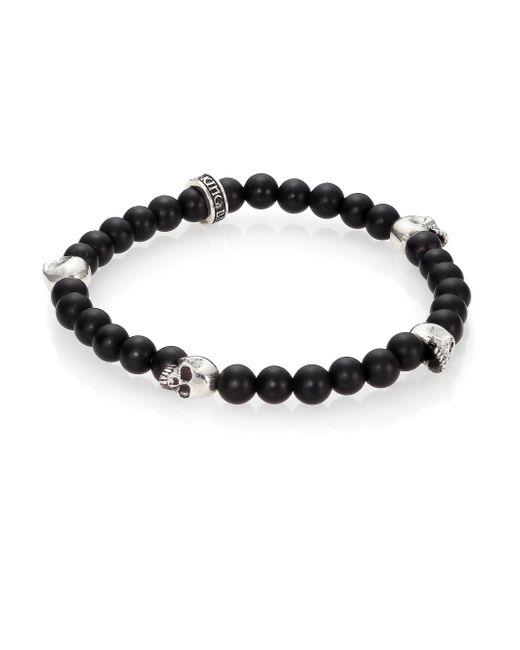 King Baby Studio | Black Onyx Beaded Bracelet for Men | Lyst
