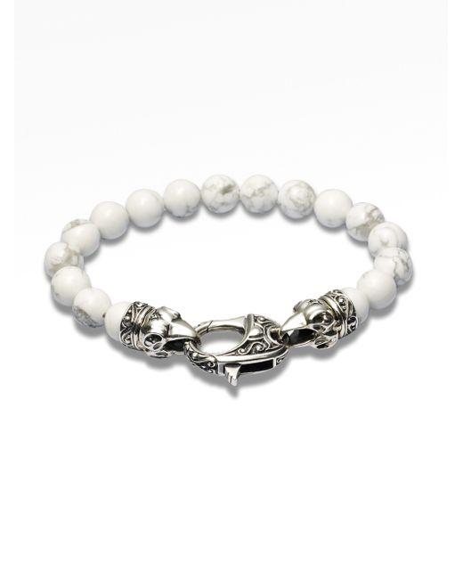 Stephen Webster | White Coral Beaded Bracelet for Men | Lyst