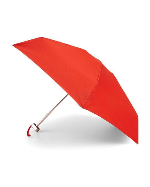 Saks Fifth Avenue | Red Ultimate Mini Umbrella | Lyst