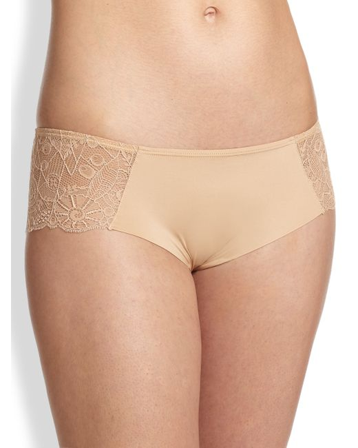 Huit | Natural Grand Jeu Boyshorts | Lyst