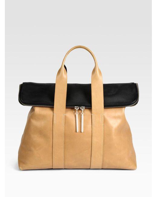 3.1 Phillip Lim | Natural 31 Hour Colorblock Bag | Lyst