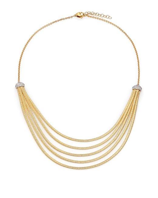 Marco Bicego | Metallic Cairo Diamond & 18k Yellow Gold Five-row Bib Necklace | Lyst