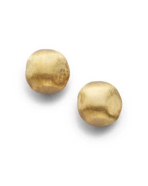 Marco Bicego | Metallic Africa 18k Yellow Gold Ball Earrings | Lyst