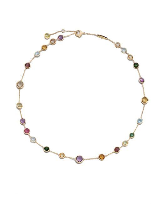 Marco Bicego | Metallic Jaipur Mini Semi-precious Multi-stone 18k Yellow Gold Station Necklace | Lyst