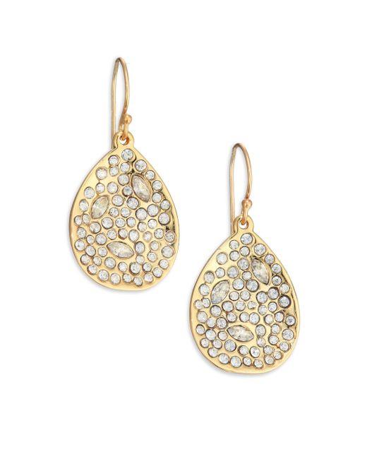 Alexis Bittar | Metallic Miss Havisham Crystal Teardrop Earrings | Lyst