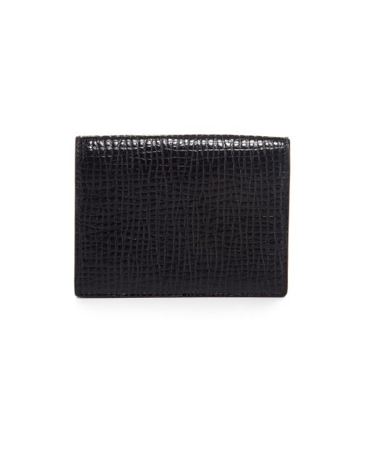Jil Sander | Blue Folding Credit Card Wallet | Lyst