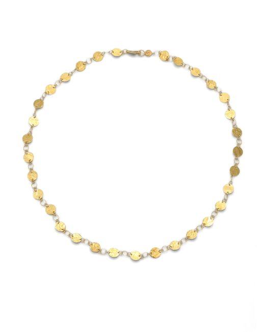 Gurhan   Metallic Lush 24k Yellow Gold Flake Necklace   Lyst