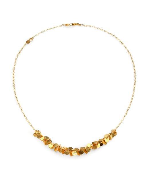 Gurhan | Metallic Lush 24k Yellow Gold Necklace | Lyst