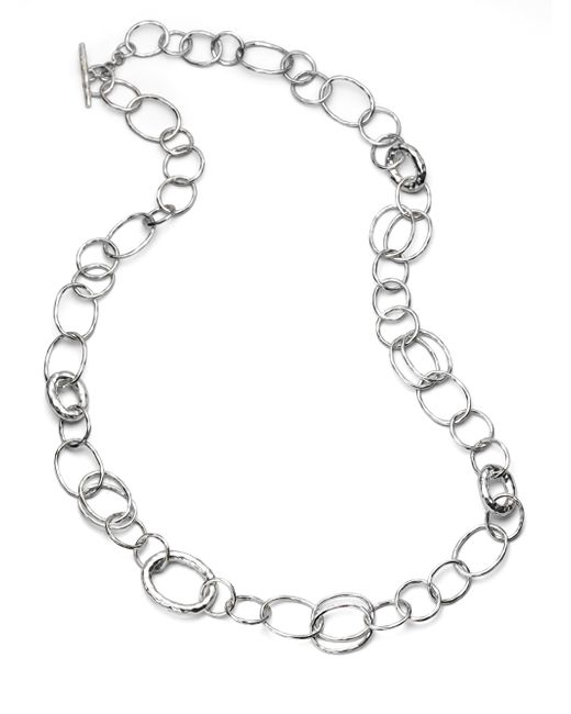 Ippolita | Metallic Glamazon Sterling Silver Bastille Element Link Chain Necklace | Lyst