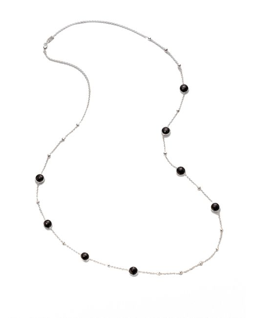 Ippolita | Black Onyx & Sterling Silver Mini Lollipop Illusion Chain Necklace | Lyst