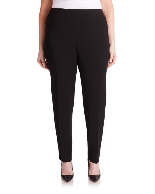 Lafayette 148 New York | Black Slim-fit Bleecker Pants | Lyst