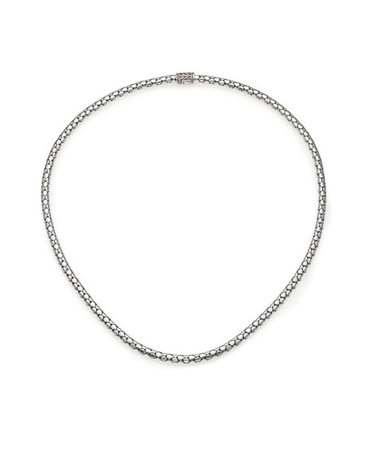 John Hardy | Metallic Dot Sterling Silver Small Chain Necklace/18 | Lyst