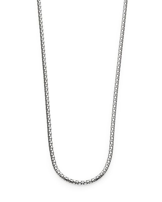 John Hardy | Metallic Dot Sterling Silver Small Chain Necklace/36 | Lyst