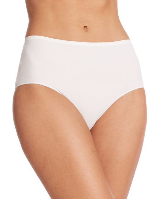 Hanro | White Allure Full Brief | Lyst