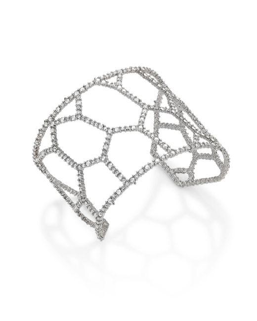 Alexis Bittar | Metallic Elements Honeycomb Crystal Cuff | Lyst