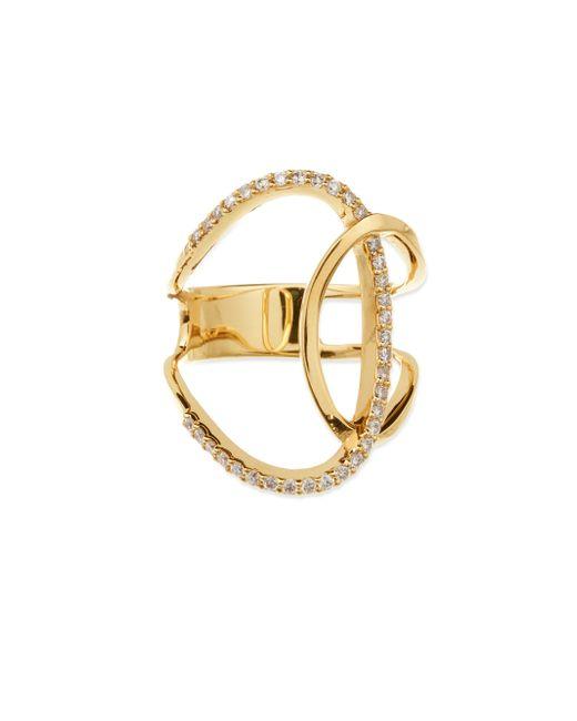 Lana Jewelry   Metallic Illuminating Diamond & 14k Yellow Gold Ring   Lyst