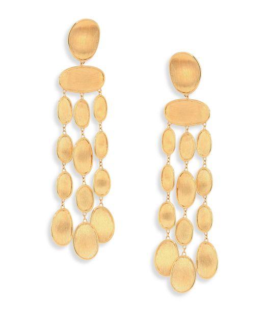 Marco Bicego - Metallic Lunaria 18k Yellow Gold Chandelier Earrings - Lyst
