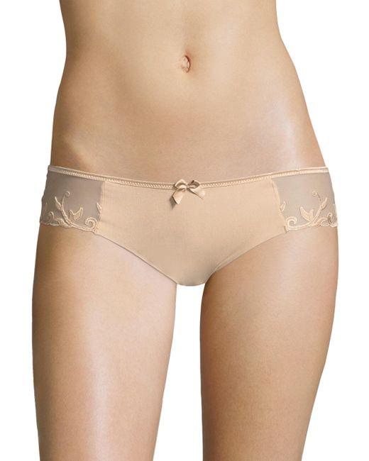 Simone Perele - Natural Andora Cotton Bikini - Lyst