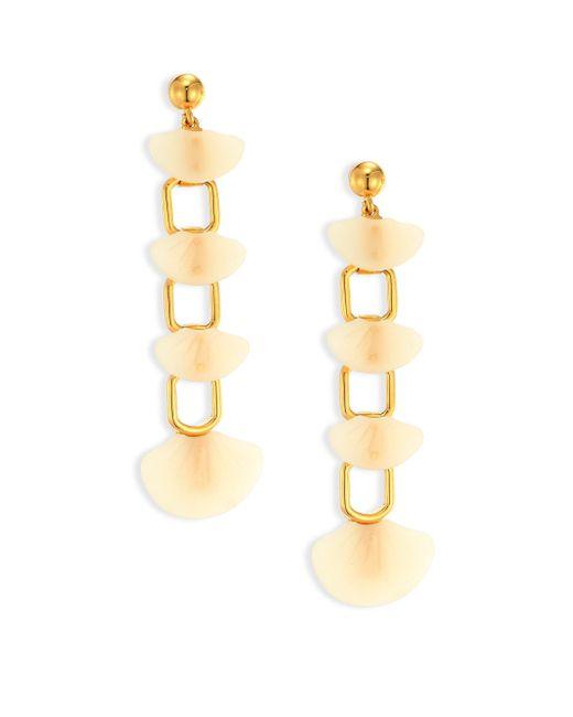 Lele Sadoughi | Metallic Shell Drop Earrings | Lyst