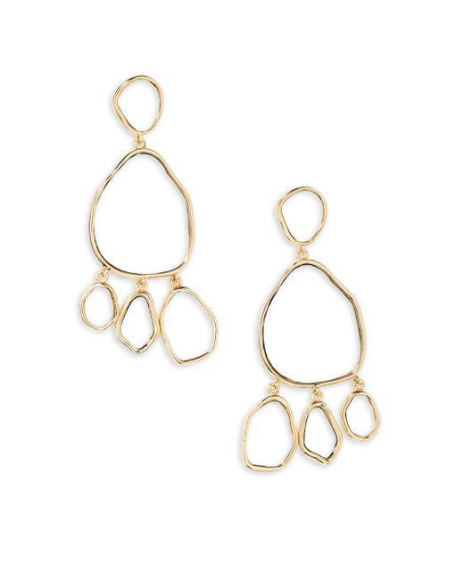 Aurelie Bidermann - Metallic Ciottolo Pendant Earrings - Lyst