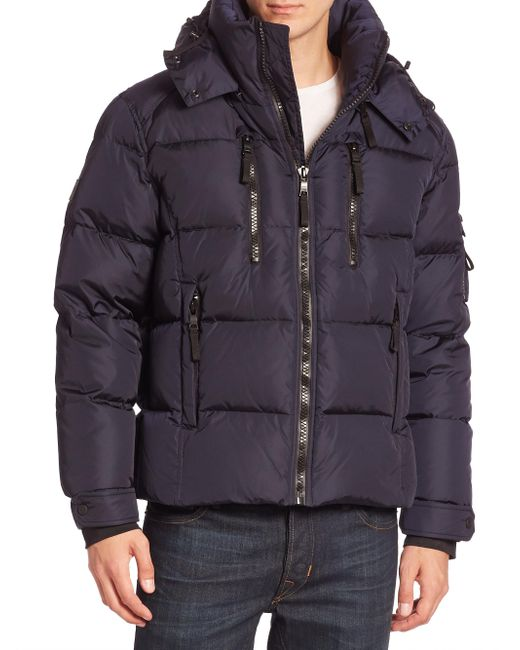 Sam. | Blue Quilted Goose Down Jacket for Men | Lyst