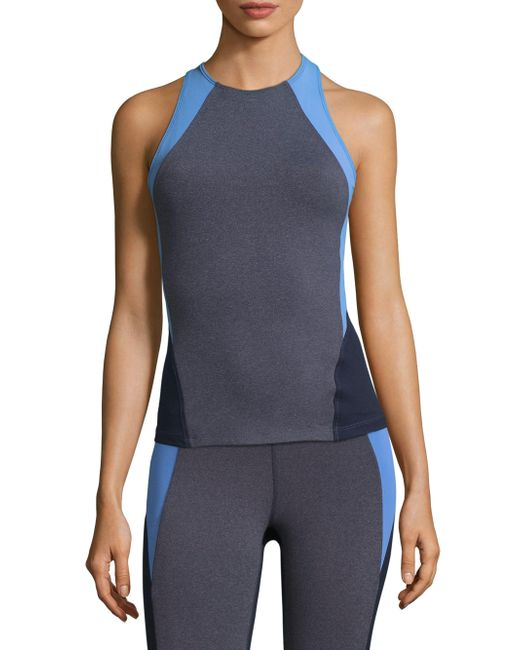 Heroine Sport - Blue Olympic Colorblock Top - Lyst