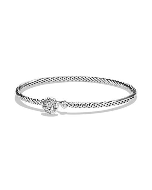 David Yurman - Metallic Chatelaine Bracelet With Diamonds - Lyst