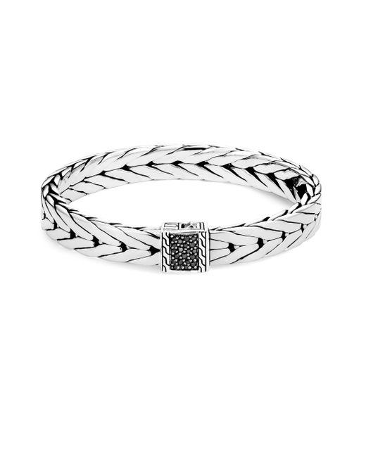 John Hardy - Black Silver Modern Chain Bracelet - Lyst
