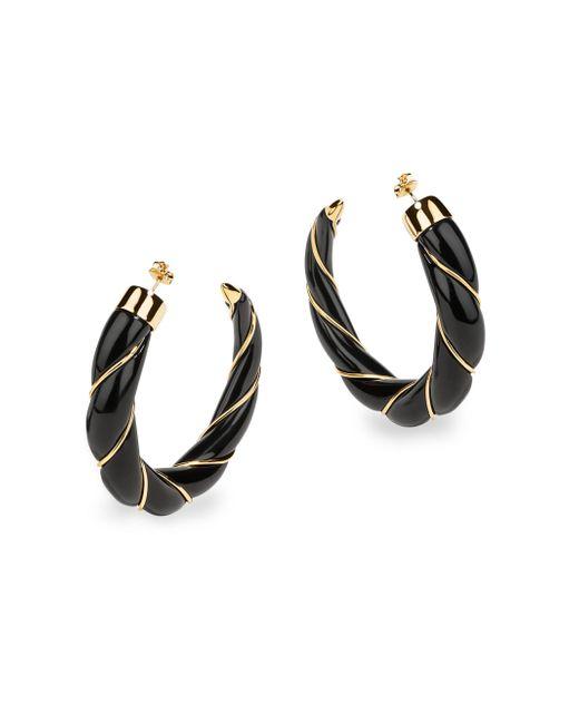 Aurelie Bidermann - Metallic Diana Twisted Hoop Earrings - Lyst