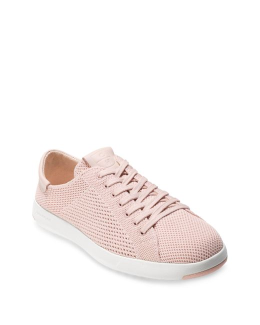 Cole Haan - Pink Grandpro Stitchlite Tennis Sneakers - Lyst