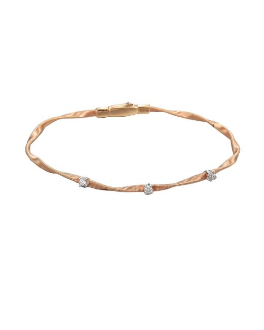 Marco Bicego - Metallic Marrakech 18k Rose Gold & Diamond Bracelet - Lyst