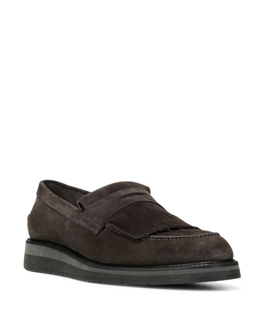 Vince | Brown Pollock Suede Moccasins for Men | Lyst