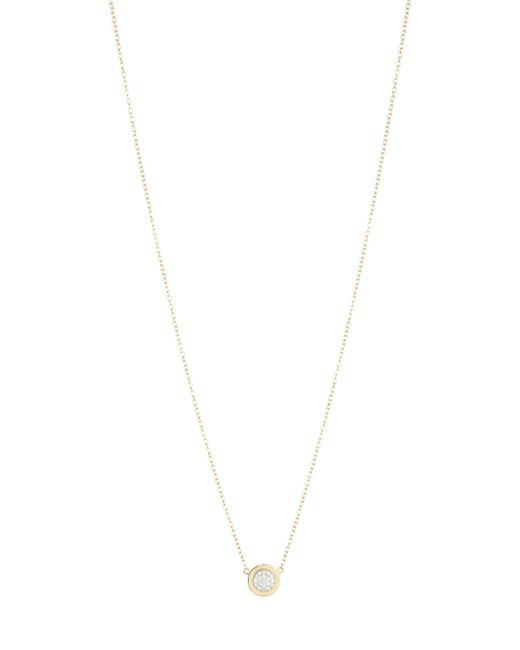 Phillips House - Metallic 14k Yellow Gold & Diamond Micro Infinity Plate Necklace - Lyst