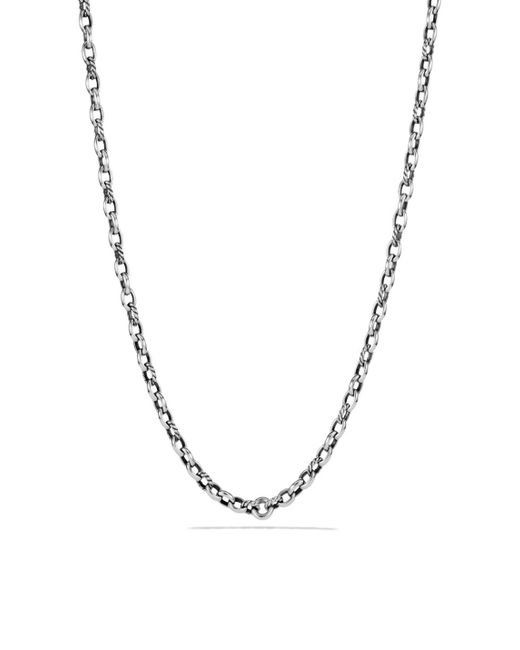 David Yurman - Metallic Albion Chain Necklace - Lyst