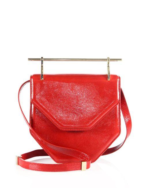 M2malletier - Multicolor Amor Fati Patent Leather Shoulder Bag - Lyst