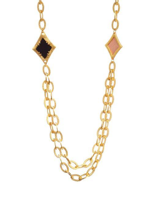 Stephanie Kantis - Metallic Illumination Necklace - Lyst